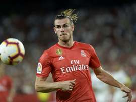 Gareth Bale will not play against Ireland. AFP