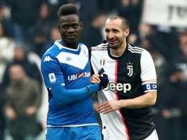 Chiellini rinnova con la Juventus. AFP
