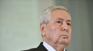 Algeria's interim president Abdelkader Bensalah. AFP