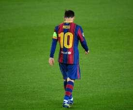 Le comité dévoile la suspension de Lionel Messi. afp