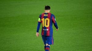 Leonardo garantiu que o PSG lutará por Leo Messi. AFP
