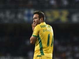 Diego Capel proche d'un record. AFP