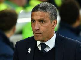Hughton is not expecting to do much business in January. AFP