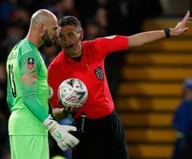 VAR will be in the spotlight when it debuts in the Premier League this coming season. AFP