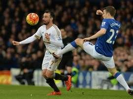 El Everton es en estos momentos séptimo en la Premier League. AFP
