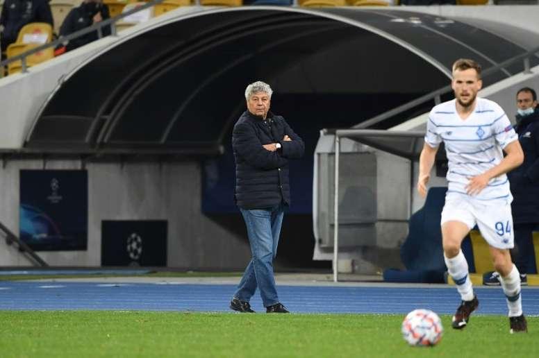Lucescu lamentó la derrota ante el FC Barcelona. AFP