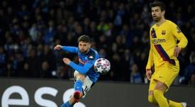 Naples souhaite conserver Dries Mertens. AFP