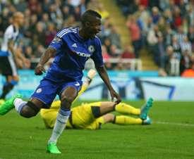 Ramires pasó por el Chelsea y juega en China. AFP