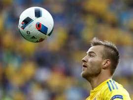 West Ham lorgne Yarmolenko. AFP