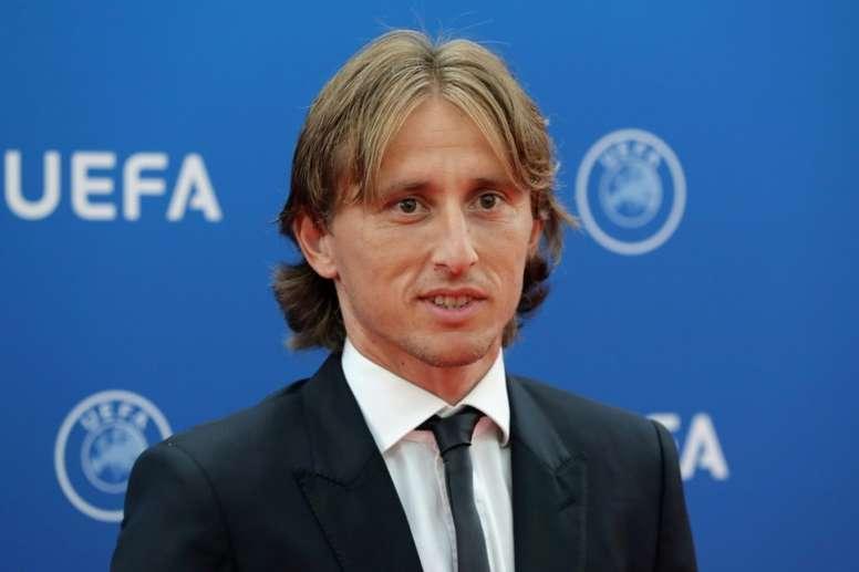 Modric habría pagado 1'2 millones de euros a Hacienda. AFP