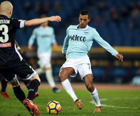 A Lazio perdeu por 1-0 com o FCSB. AFP