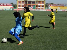 Afghanistan's head of football has been suspended amid FIFA probe. AFP