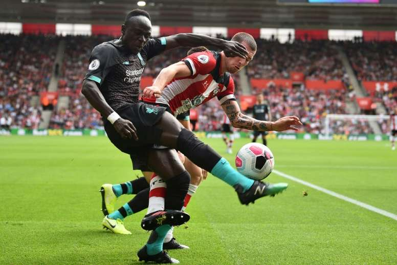 Mane got a goal and an assist in Liverpool's win at Southampton. AFP