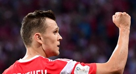 Denis Cheryshev starred for Russia at this summer's World Cup. AFP
