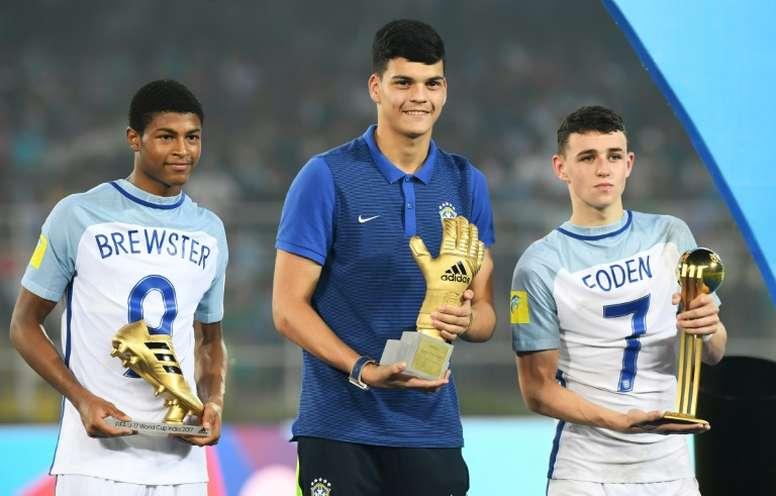 Gabriel Brazão é uma das sensações do Brasil. AFP