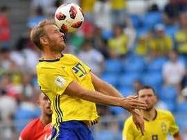 El Mundial rejuveneció al eterno sueco que tomó el relevo de Ibra. AFP