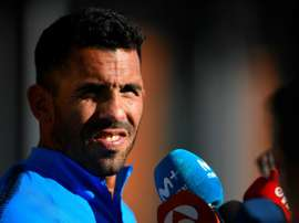 Tevez has given his thoughts on the relocation of the final. AFP