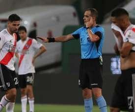 Palmeiras into Libertadores final after VAR thwarts River