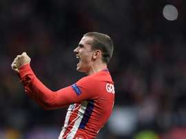 Griezmann is expected to join in the summer. AFP