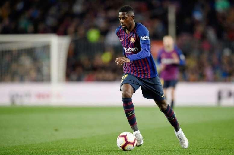 Le Barça compte sur Dembélé. AFP