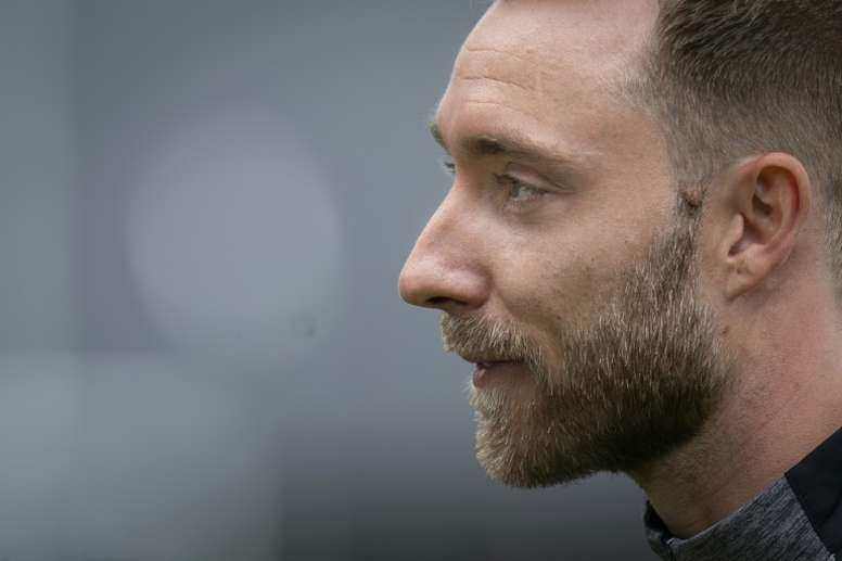 Eriksen verso il trasferimento. AFP