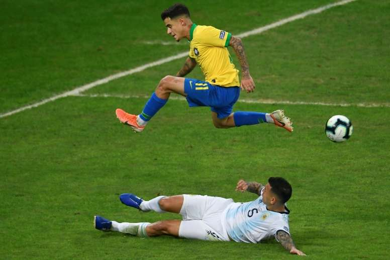 There were communication problems prior to the Brazil-Argentina game. AFP