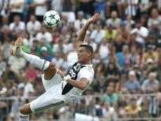 Ronaldo will make his Juventus debut against Chievo. AFP