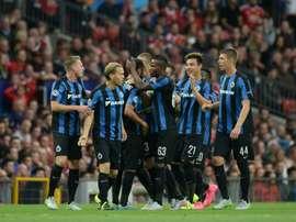 El Brujas pasó por encima del Anderlecht. AFP
