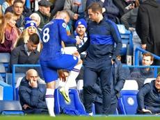 Barkley showed 'lack of professionalism' says Lampard. AFP