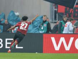 Nurembergs Matheus Pereira shocked Bayern Munich with a second half goal on Sunday. AFP