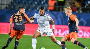 The friendly between Strasbourg and Montpellier has led to many COVID-19 cases. AFP
