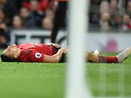 Les minutes d'Alexis à United sont comptées. AFP