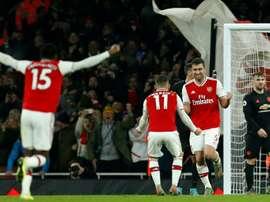 O Arsenal está de olho em Max Aarons, objetivo dos 'spurs'. AFP