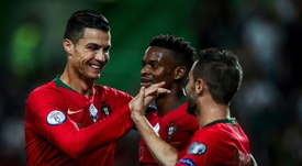 Cristiano Ronaldo has scored six goals in qualifying for Euro 2020. AFP