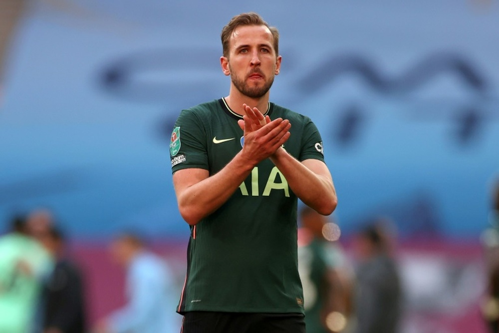 City and Tottenham have reportedly agreed a deal for Kane. AFP