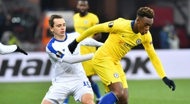 Hudson-Odoi is on the point of renewal. AFP
