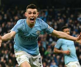 Foden hopes he is rewarded for his performance with the England U21s. AFP