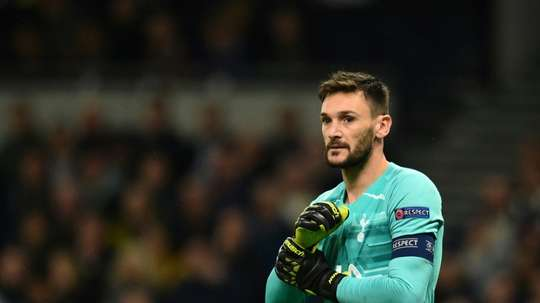 Hugo Lloris returned to the Spurs side after three months out injured. AFP