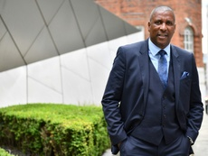 Viv Anderson wants more studies down on the link between dementia and heading. AFP