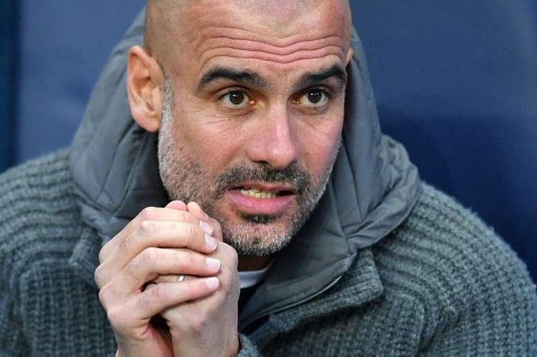 Guardiola eyes history as City's treble chase heats up.