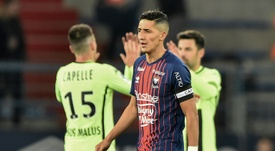 Caen are now being investigated for alleged planned match-fixing. AFP.