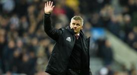 Solskjaer analizó el mal momento del United. AFP