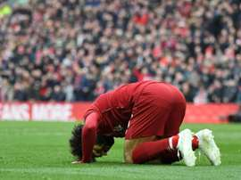Mo Salah scored a sensational goal for Liverpool. AFP