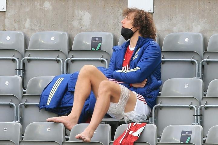Tras Ribéry, la Salernitana quiere a David Luiz. AFP