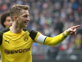 Reus got himself on the score sheet for Dortmund. AFP