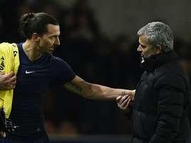 Mourinho já é especulado com um reforço de peso: Ibrahimovic! AFP