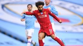 Salah quiere verse las caras con Falcao. AFP