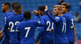 Brighton - Chelsea: onzes iniciais confirmados. AFP