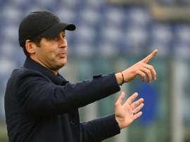 La Roma perd sur tapis vert son match contre La Spezia. afp
