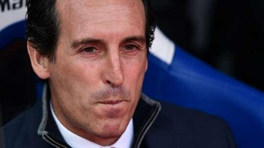 Unai Emery said his side deserved a point. AFP